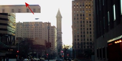 UFO Photographed over Seattle, Washington – Dec 30 2012