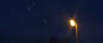 Triangle UFO filmed over Mora, Sweden – 9th Jan 2013