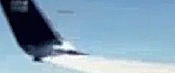 UFO Filmed from Airplane over Hawaii – 10th Feb 2013