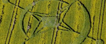 Another New Crop Circle Discovered, Alton Priors in Wiltshire, UK – 2nd June 2013
