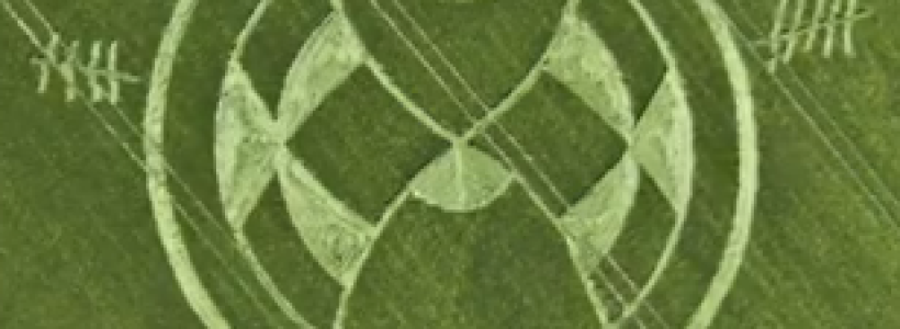 New Crop Circle – Silbury hill, Avebury – 25th June 2013