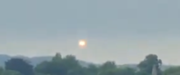 Unknown Bright Object filmed over Leeds, UK – 4th August 2013