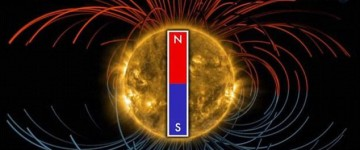 Sun's magnetic poles are set to FLIP within four months
