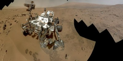 Large amounts of water found in the soil of Mars