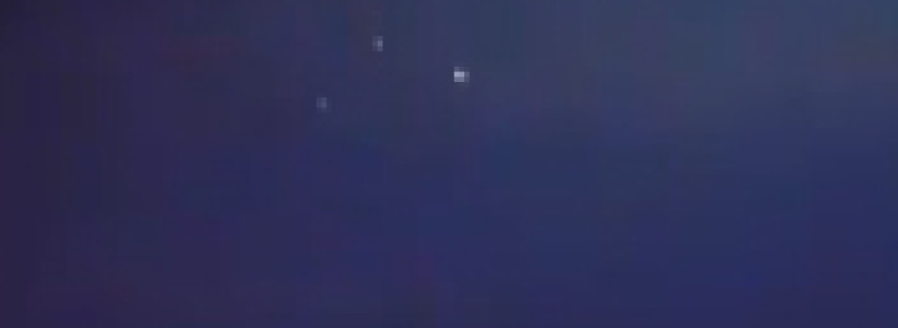 Triangle UFO Formation filmed over Panama