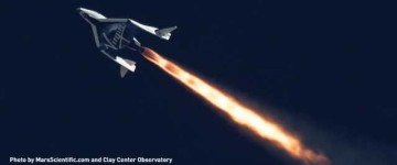 Virgin Galactic's Completes Second Rocket Powered Test Flight