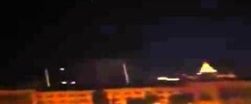 Triangle UFO Sighting filmed over Moscow, Russia