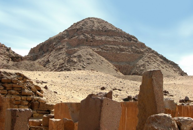 Image Caption: Pyramid of Neferirkare at Abusir Egypt. Credit: seamon53 / Shutterstock