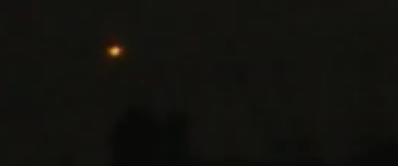 Multiple UFO lights filmed over Moscow – October 2013