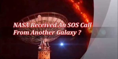 NASA experts claim to have intercepted an intergalactic distress call