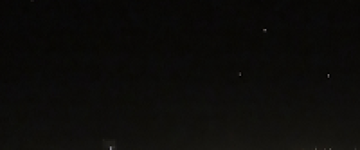 Multiple unknown lights filmed over Long Beach, California – 22 Nov2013