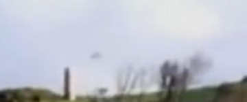 Unknown disk shaped object filmed over Normandy in France – 11th Jan 2014