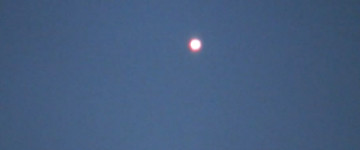 Bright orb filmed over New Orleans – January 26, 2014