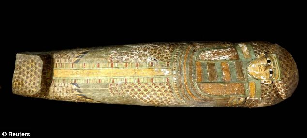 Stunning 3,600-year-old sarcophagus