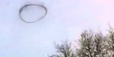 Mysterious object in the sky above UK