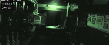 Ghost Sighting in a Haunted Pub