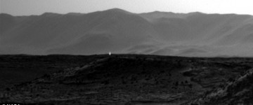 Mysterious light Photographed on Mars by Curiosity Rover