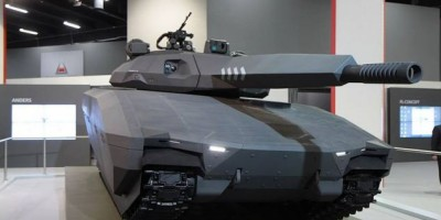 New High-tech Stealth Tank