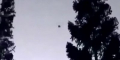 Disk Shaped UFO sighting filmed over California – March 2014