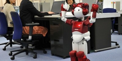 Japanese scientists reveal robot with a sense of humour