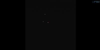 Triangle Shaped UFO filmed above Tallahassee, Florida – April 2014
