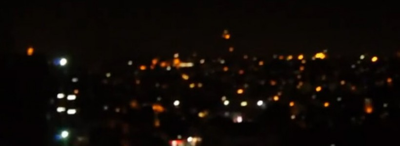 UFO sighting filmed over Istanbul, Turkey – 12th June 2014