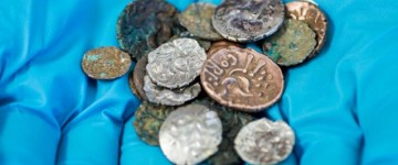 2,000 year old Iron Age coins found in a cave