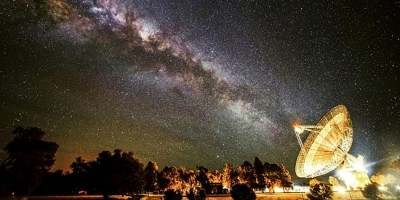 Radio waves from outside our galaxy detected