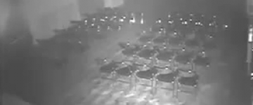 Poltergeist moves chair in haunted theatre