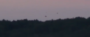UFO sighting over Dordogne, France – 5th July 2014