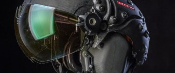 New High Tech 'virtual reality' helmet for fighter pilots