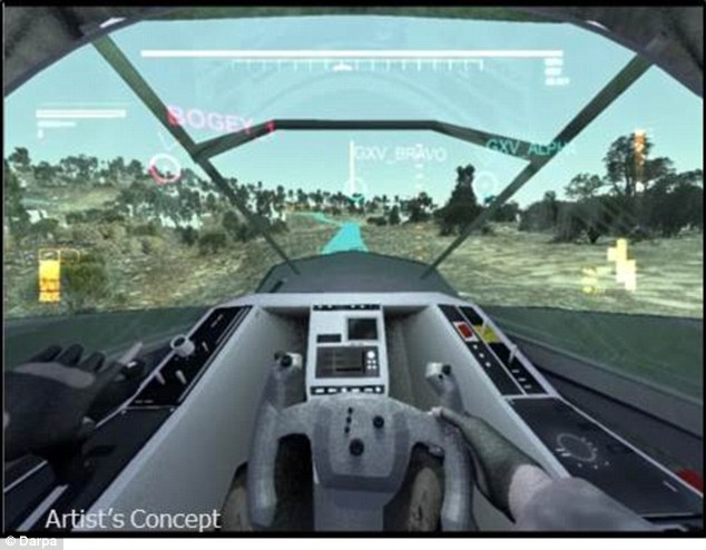 The new vehicles will also be far easier to pilot, with a heads-up display are car-like controls