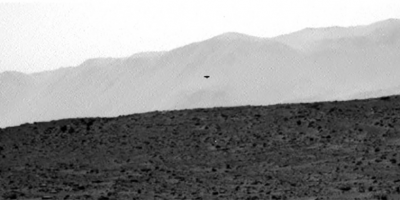 UFO Photographed by Mars Curiosity