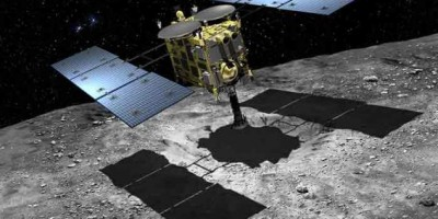 Japan reveals spacecraft that will land on an ASTEROID and return samples by 2020