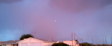 UFO Sighthing Filmed Over Lake Havasu City, Arizona – July 13 2014