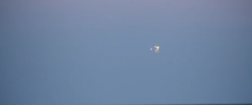UFO Activity filmed over Baltic Sea, Poland – 9th September 2014