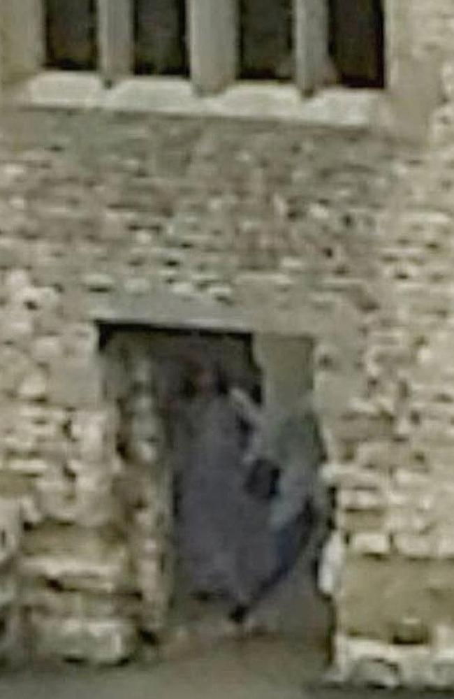 Dan and Amy Harper snapped what appeared to be the famous Grey Lady during a recent visit to Dudley Castle. Picture: Dudley and West Midlands Zoological Society Limited Source: Supplied