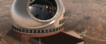 Construction of the $1.4 billion Telescope has started in Hawaii