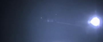 Triangle UFO sighting filmed over Paris – October 2014.