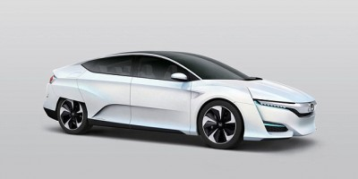New hydrogen fuel cell car that goes on sale in 2016