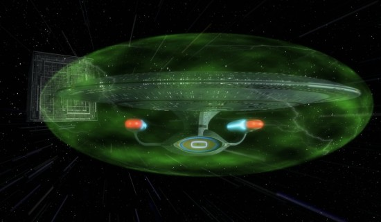 Earth is being protected by a 'Star Trek-style invisible shield