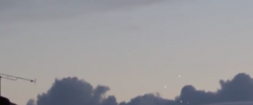 UFO activity over Paris, France – 14th November 2014
