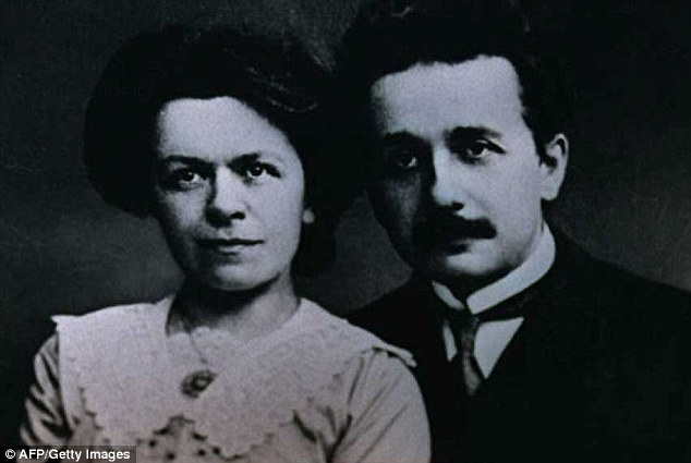 An online collection of 5,000 Albert Einstein documents includes letters to his future wife Mileva Marić. The pair are pictured together