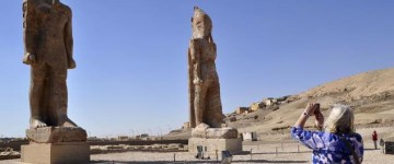 Statue of the Egyptian king is restored 3,200 years after its collapse