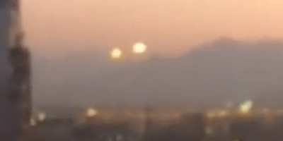 UFO Activity filmed over Chile – 17th December 2014
