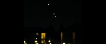 UFO Activity filmed over Vancouver – 2nd December 2014