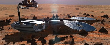 Britain's lost Mars probe been found after 11 YEARS