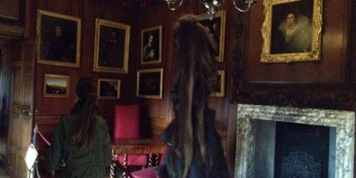 Ghost of the Grey Lady caught on camera at Hampton Court Palace