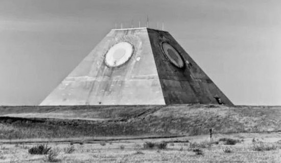 US Military Built a Pyramid With 'All Seeing Eye' in the Middle of Nowhere