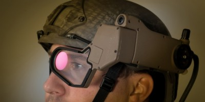 BAE Systems has developed for the British Military high-tech vests, augmented reality helmets and wearable chargers